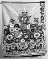 Brooklyn Museum: Embroidered (curtain?) panel