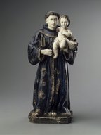 Brooklyn Museum: Figure of St. Anthony and the Christ Child