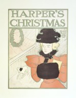 Brooklyn Museum: Harper's Poster - Christmas, December 1896