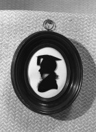 Brooklyn Museum: Silhouette of Bust Portrait of Youth