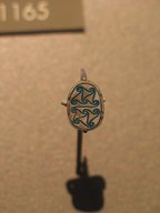 Brooklyn Museum: Scarab with Scrolls