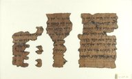 Brooklyn Museum: Incomplete Papyrus