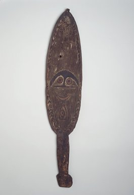 Spirit Board (Kwoi), 19th century. Wood, pigment, 33 3/4 x 7 in. (85.7 x 17.8 cm). Brooklyn Museum, Brooklyn Museum Collection, 00.137. Creative Commons-BY
