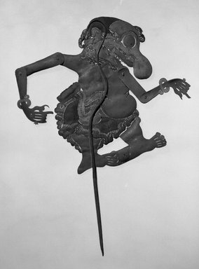Shadow-play Figure, Baradjayenta. Leather, 12 13/16 x 8 11/16 in. (32.5 x 22 cm). Brooklyn Museum, Brooklyn Museum Collection, 00.157. Creative Commons-BY