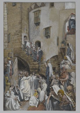 Brooklyn Museum: A Woman Cries Out in a Crowd (Une femme crie dans en foule)