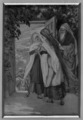 Brooklyn Museum: The Visitation (La visitation)