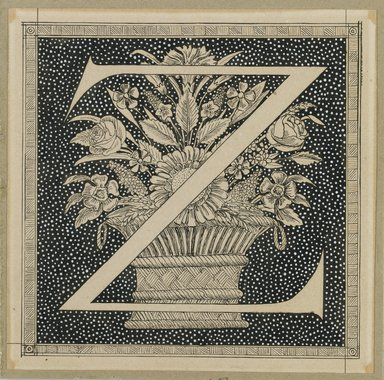 Brooklyn Museum: Capital Letter Z