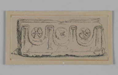 Brooklyn Museum: Sarcophagus, Valley of Esdrelon near El-Fuleh (Sarcophage, valle d'Esdrelon, prs d'El Fuleh)