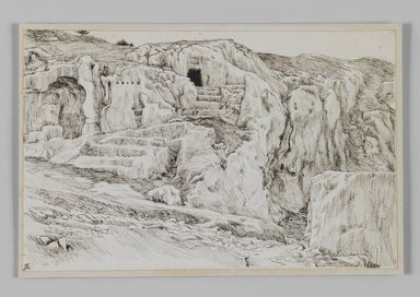 Brooklyn Museum: Ancient Tombs, Valley of Hinnom