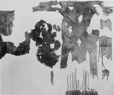 Fragments of Childs White Fringed Tunic