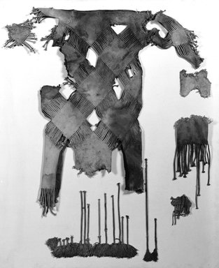 Brooklyn Museum: Fragments of Child's White Fringed Tunic