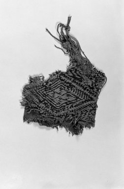Southwest (unidentified) (Native American). Fragments of Child's White Fringed Tunic. Cotton, 28 3/8 x 27 15/16in. (72 x 71cm). Brooklyn Museum, Museum Expedition 1903, Museum Collection Fund, 03.250. Creative Commons-BY