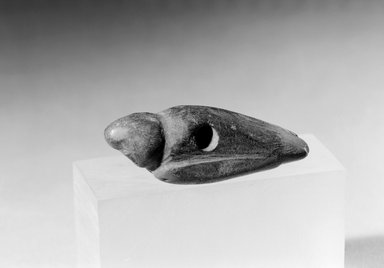 Southwest (unidentified) (Native American). Bird Charm, 600-1300. Stone or Bone, 1 7/8 x 5/8 x 9/16 in. (4.8 x 1.6 x 1.4 cm). Brooklyn Museum, Museum Expedition 1903, Museum Collection Fund, 03.325.4522. Creative Commons-BY