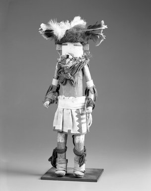 She-we-na (Zuni Pueblo) (Native American). Kachina Doll (Kanachu), late 19th century. 