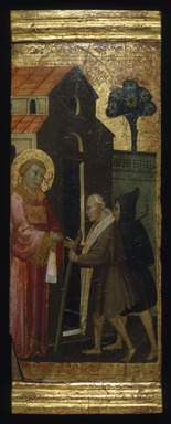 Brooklyn Museum: Saint Lawrence Distributing Alms to the Poor