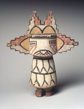 Brooklyn Museum: Kachina Doll (Sa'lakwmana)