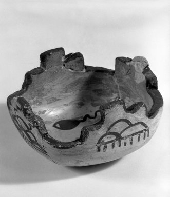 Hopi Pueblo (Native American). Two Small Medicine Bowls for Sacred Meal. Pottery, pigment, 6 x 9.5 cm. Brooklyn Museum, Museum Expedition 1905, Museum Collection Fund, 05.588.7140. Creative Commons-BY