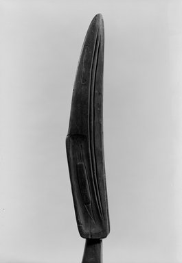 Haida (Native American). Carved Shaman's Staff Representing Raven (Taske), 1868-1900. Wood, pigment, Length of staff: 57 1/4 in. (145.4 cm). Brooklyn Museum, Museum Expedition 1905, Museum Collection Fund, 05.588.7308. Creative Commons-BY