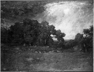 Brooklyn Museum: Autumn Oaks, Forest of Fontainebleau