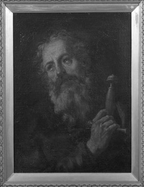 Spanish, probably School of Seville. Head of Saint Paul, 1660-1700. Oil on canvas, 23 1/8 x 17 1/4 in.  (58.7 x 43.8 cm). Brooklyn Museum, Gift of Francis Gottsberger in memory of his wife, Eliza, 06.335.4
