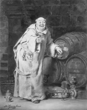 Brooklyn Museum: Monk Testing Wine