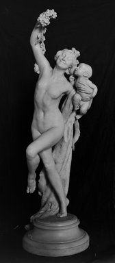 Frederick William MacMonnies (American, 1863-1937). Bacchante, 1894. Marble, 86 1/2 x 31 x 33 3/4 in. (219.7 x 78.7 x 85.7 cm). Brooklyn Museum, Ella C. Woodward Memorial Fund, 06.33. Creative Commons-BY