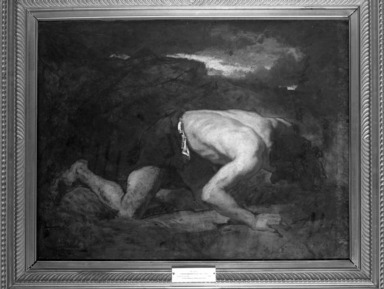Brooklyn Museum: The Fugitive, Study for Timon of Athens