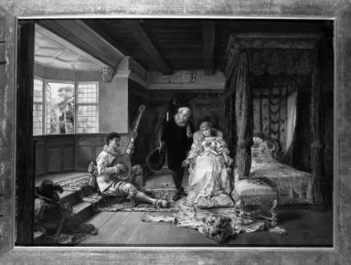 Ignacio León y Escosura (Spanish, 1834-1901). The Physician's Visit, 1881. Oil on panel, 15 3/4 x 22 1/2in. (40 x 57.2cm). Brooklyn Museum, Bequest of Caroline H. Polhemus, 06.68