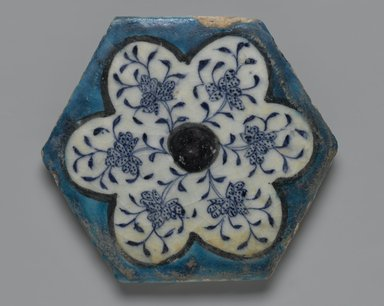 Brooklyn Museum: Hexagonal Tile