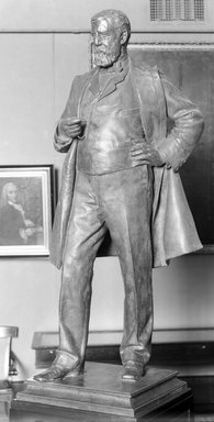 Frederick William MacMonnies (American, 1863-1937). General John Blackburne Woodward, ca. 1901. Bronze, Overall: 93 3/4 x 40 x 29 in. (238.1 x 101.6 x 73.7 cm). Brooklyn Museum, Gift of the Citizens Committee of Brooklyn, 07.1. Creative Commons-BY