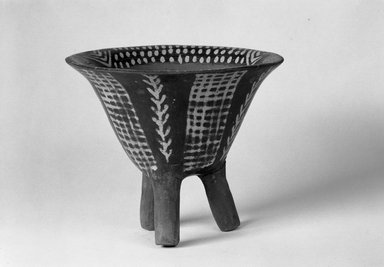 Brooklyn Museum: Deep Tripod Bowl