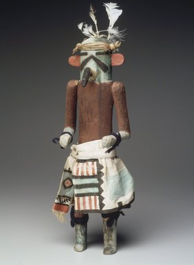 Brooklyn Museum: Kachina Doll (Kja-kja-lih)