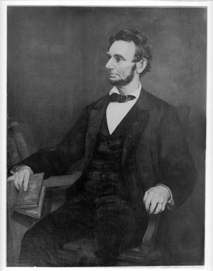 American. Abraham Lincoln, after 1860-1890. Oil on canvas, 49 5/16 x 38 3/16 in. (125.3 x 97 cm). Brooklyn Museum, Caroline H. Polhemus Fund, 08.217
