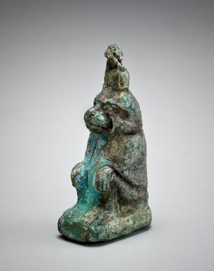 Cynocephalus Baboon, 664–332 B.C.E. Bronze, 2 1/2 x 1 3/8 x 13/16 in. (6.3 x 3.5 x 2 cm). Brooklyn Museum, Charles Edwin Wilbour Fund, 08.480.41. Creative Commons-BY
