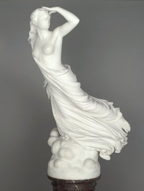 Randolph Rogers (American, 1825-1892). The Lost Pleiad, ca. 1874-1875. Marble, Statue: 49 3/4 x 23 1/4 x 34 1/2 in. (126.4 x 59.1 x 87.6 cm). Brooklyn Museum, Gift of Mrs. J. L. Barclay, 09.770. Creative Commons-BY