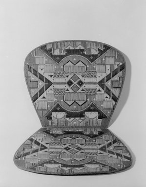 Micmac (Native American). Chair Seat. Bark, porcupine quill, 9 3/8 x 14 15/16in. (23.8 x 38cm). Brooklyn Museum, Brooklyn Museum Collection, 09.801. Creative Commons-BY