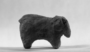 Figurine of an Elephant, ca. 3850-3300 B.C.E. Terracotta, 1 3/4 x 7/8 x 2 13/16 in. (4.5 x 2.3 x 7.1 cm). Brooklyn Museum, Charles Edwin Wilbour Fund, 09.889.325. Creative Commons-BY