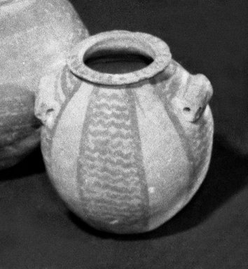 Pointed Shape Vase. Clay Brooklyn Museum, Charles Edwin Wilbour Fund, 09.889.437. Creative Commons-BY