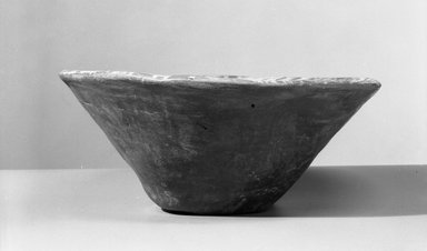 Brooklyn Museum: Conical Cup with White Decoration on Interior