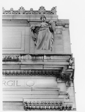 Charles Augustus Heber (American, born Germany, 1875-1956). The Roman Epic, 1909. Indiana limestone, Approx. height: 144 in. (365.8 cm). Brooklyn Museum, Gift of the City of New York, Parks and Recreation, 09.937.30. Creative Commons-BY