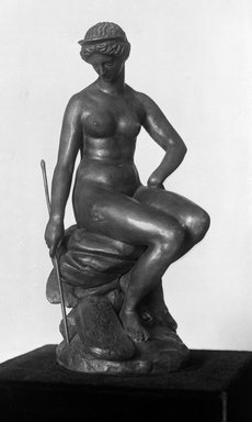 Antoine-Louis Barye (French, 1795-1875). Juno (Junon), modeled ca. 1840; cast date unknown. Bronze, 11 x 5 x 6 1/2 in. (27.9 x 12.7 x 16.5 cm). Brooklyn Museum, Purchased by Special Subscription, 10.114. Creative Commons-BY