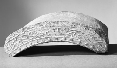 Brooklyn Museum: Arc-shaped Tile