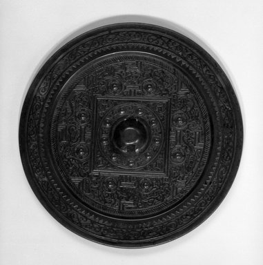 TLV-Type Mirror, 25-220. Bronze, 1/2 x 5 1/8 in. (1.3 x 13 cm). Brooklyn Museum, Museum Expedition 1909, Purchased with funds given by Thomas T. Barr, E. LeGrand Beers, Carll H. de Silver, Herman B. Stutzer, Colonel Robert B. Woodward and Museum Collection Fund, 10.58. Creative Commons-BY