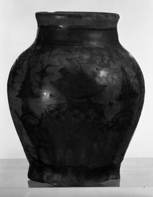 Small Potted Vase, 18th century. Ceramic, 6 1/4 x 5 1/8 in. (15.8 x 13 cm). Brooklyn Museum, Museum Collection Fund, 10.83. Creative Commons-BY