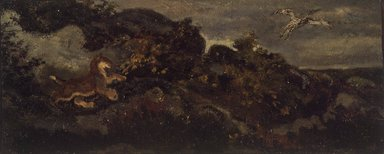 Brooklyn Museum: Panther Chasing a Stork
