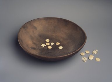Brooklyn Museum: Die, from a Set of 9 Dice and Bowl