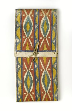 Possibly Eastern Dakota (Native American). Parfleche, 20th century. Hide, pigment, 25 1/2 x 11 3/4 in. (64.8 x 29.8 cm). Brooklyn Museum, Museum Expedition 1911, Museum Collection Fund, 11.694.9042. Creative Commons-BY