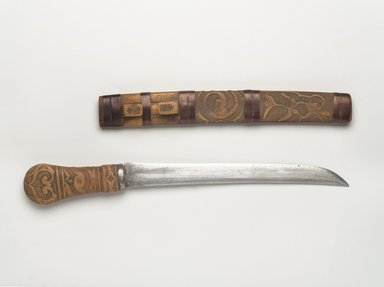 Sword with Carved Handle
