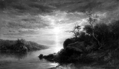 Hendrik Dirk Krusman van Elten (American, 1829-1904). Landscape, ca. 1885. Oil on canvas, 39 1/8 x 66 1/8 in. (99.3 x 168 cm). Brooklyn Museum, Gift of Mrs. Van Elten through The Honorable John R. Planten, 12.913