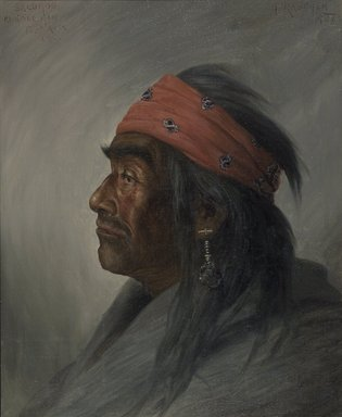 Brooklyn Museum: Salomon, Medicine Man